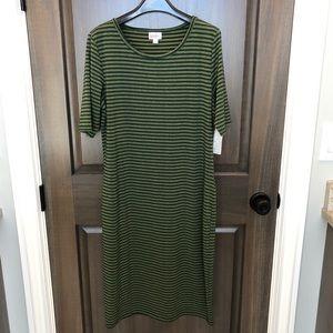 Lularoe Julia dress. NWT Size Large
